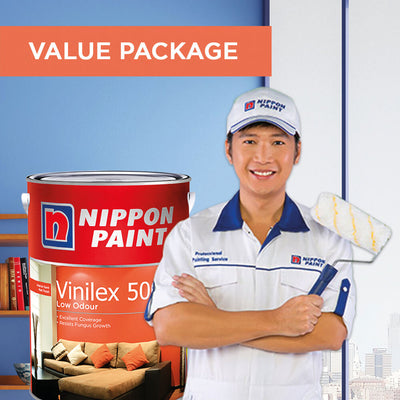 Reservation of Nippon Paint Packages for Mansionette