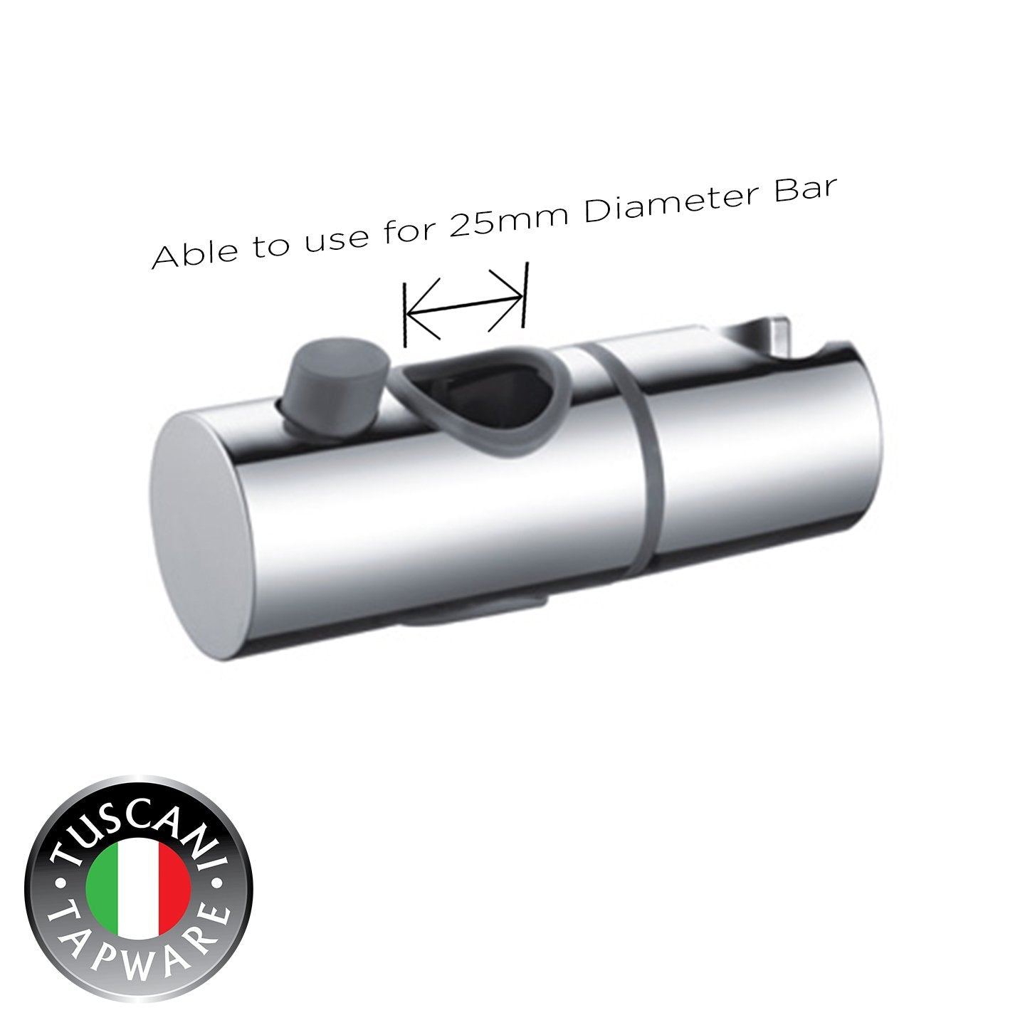 Slider Shower Holder - 25mm