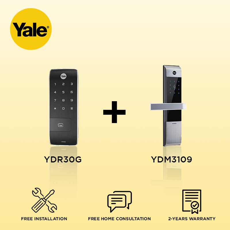 Yale YDR30G + YDM3109 Digital Door Lock