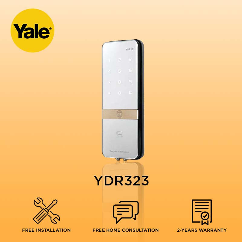 Yale YDR323 Proximity Card Digital Door Lock