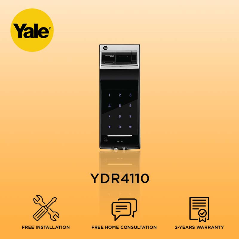 Yale Biometric Digital Door Lock YDR4110