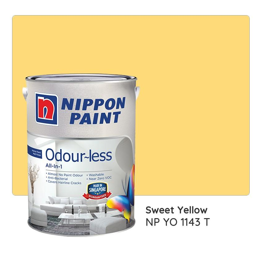 Nippon Paint Odour Less All In 1 Np Yo 1143 T Sweet
