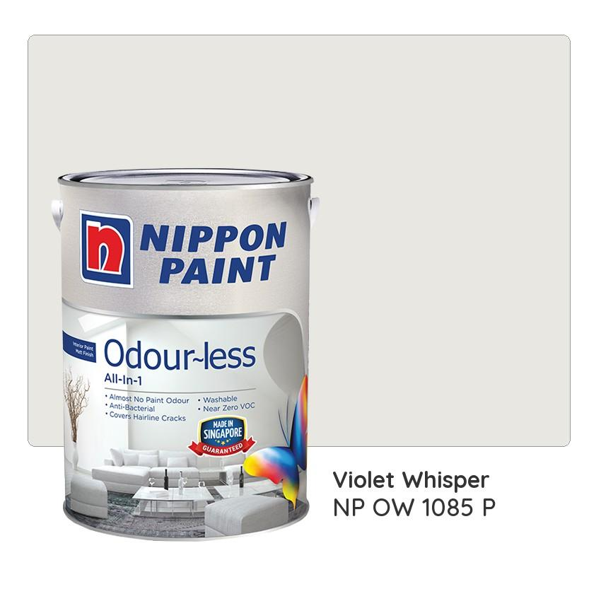 Nippon Paint Odour Less All In 1 Np Ow 1085 P Violet