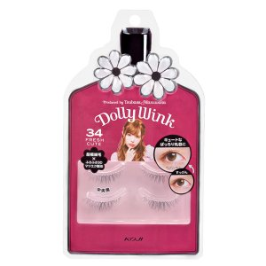Dolly Wink Eyelash No.34 Fresh Cute