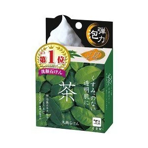 Shizenkokochi Facial Soap Green Tea 80G