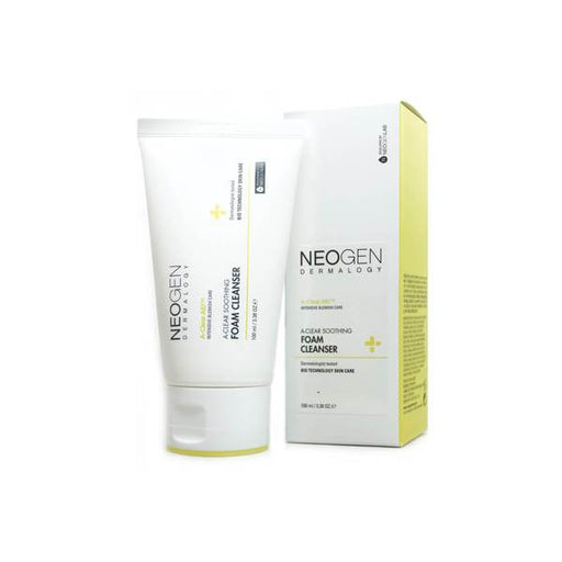 Nenogen Dermalogy A-CLEAR Soothing Foam Cleanser 100ml