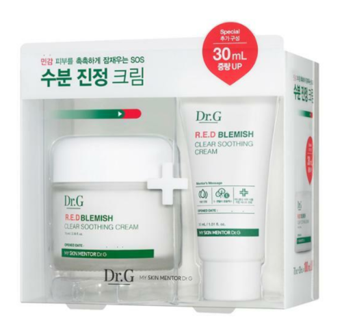 Dr.G R.E.D Blemish Clear Soothing Cream Set