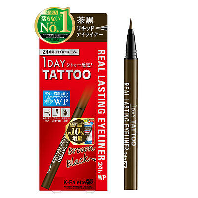 K-Palette Real Lasting Eyeliner 24H WP BB Brown Black