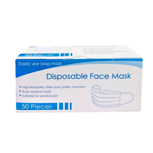 Disposable Face Mask (50 pieces/box)