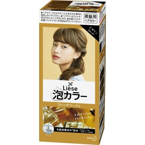 Kao Liese Prettia Bubble Hair Color (French Beige)