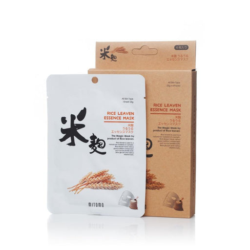 Mitomo Uruuru Rice Leaven Essence Mask