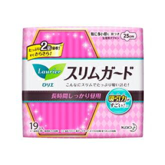 Kao Laurier Slim Sanitary Pad Long Hours Day Use With Wings 25Cm 19Pcs