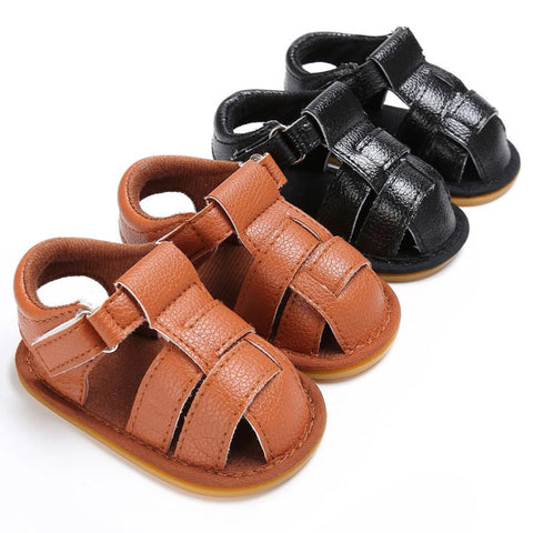 Soft Leather Gladiator Sandals