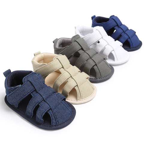 Casual Soft Baby Toe Cap Covering Beach Sandals