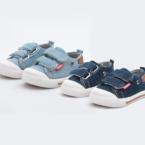 Denim Jean Canvas Sneakers