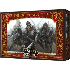 Cool Mini or Not Miniatures A Song of Ice and Fire Miniatures Game - The Mountain's Men