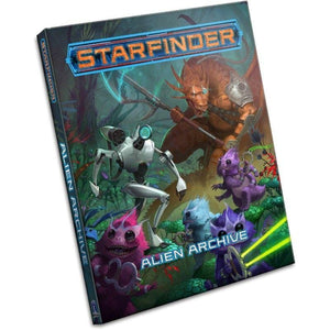 Paizo Roleplaying Games Starfinder RPG - Alien Archive (Book)