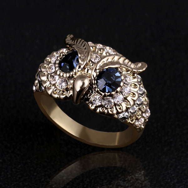 Luxury Owl Ring