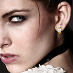 FREE Crystal Owl Stud Earrings