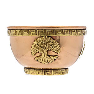 Copper Ancient Smudge Bowl