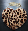 Plush Heart purse