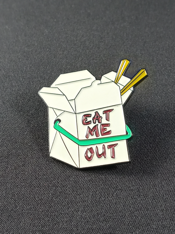 Eat Me Out Pin/Brooch