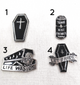 Coffins Pin/Brooch