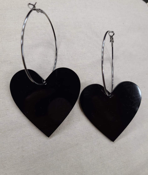 Black Heart Hoop