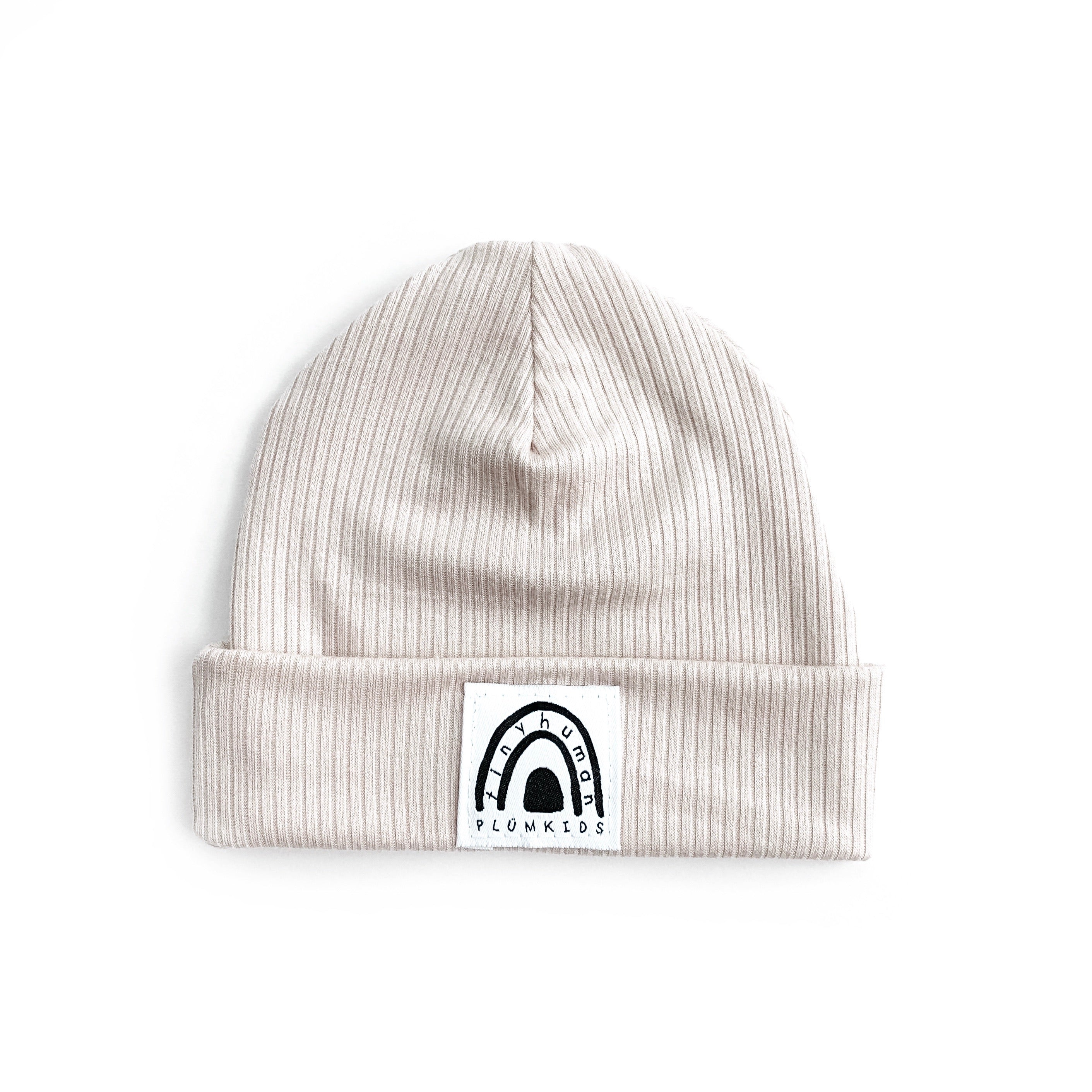 TINY HUMAN BEANIE | LIGHT CARAMEL