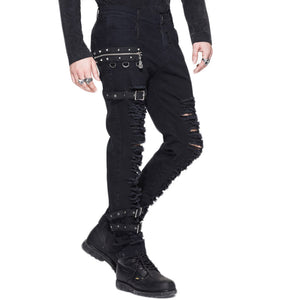 Torn Buckle Pants - One Stop Steampunk