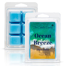 Ocean Breeze - 2 oz Wax Melt- 6 cubes- Refreshing Beach Scent, Gift for Women, Men, BFF, Friend, Wife, Mom, Birthday, Sister, Daughter, Sentimental