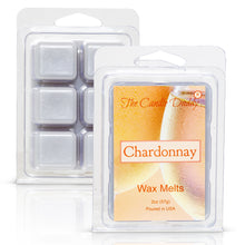 Chardonnay - White Wine Champagne Scented Melt- Maximum Scent Wax Cubes/Melts- 1 Pack -2 Ounces- 6 Cubes