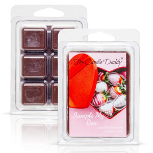Sample My Box -Valentine's Day Edition - Funny Chocolate Fudge Scented Wax Melt Cubes - 2 Ounces