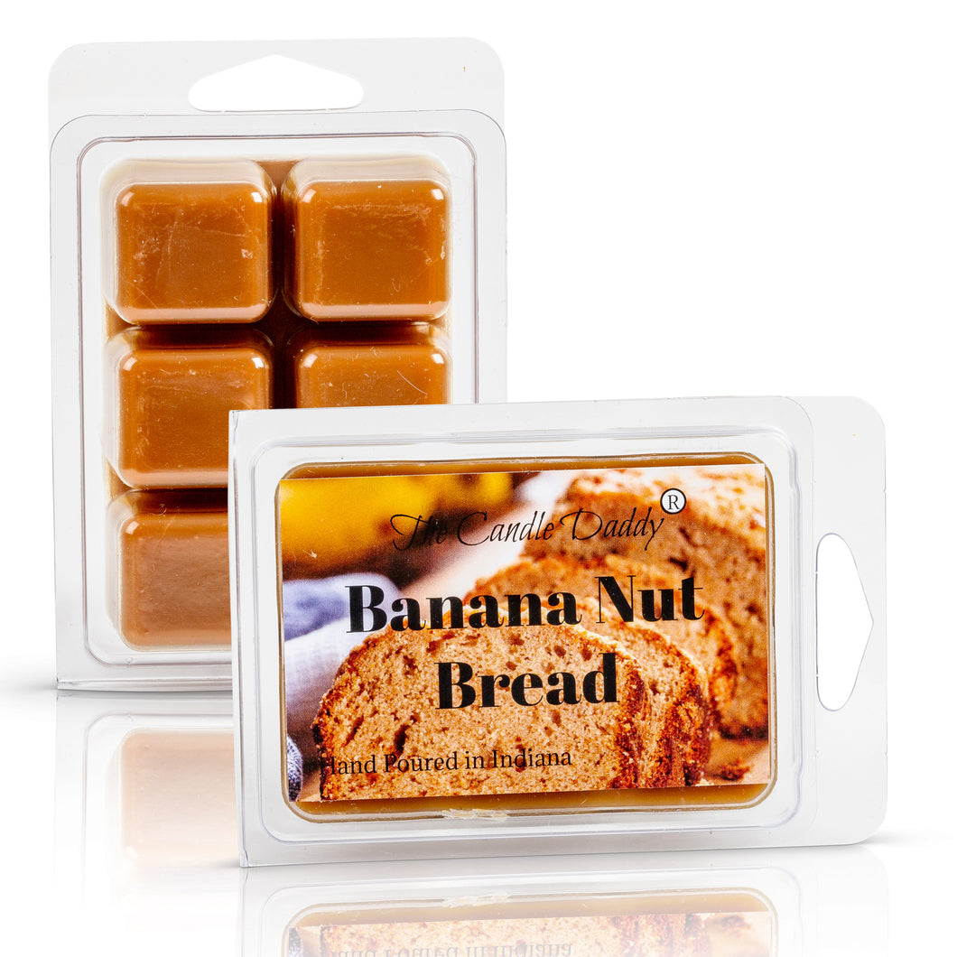 Banana Nut Bread Scented Wax Melt - 2 Ounces - 6 Cubes