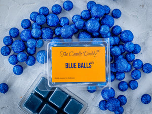 5 Pack - Blue Balls - Blueberry Scented Wax Melts Cubes - 2 Ounces x 5 Packs = 10 Ounces