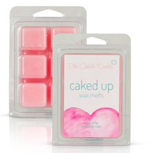 Caked Up - Birthday Cake Scent - Maximum Scent Wax Melt Cubes - 2 Ounces Per Package - Hand Poured In Indiana