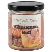 Cinnamon Roll - Sweet Cinnamon Scented 6oz Jar Candle - The Candle Daddy - Hand Poured In Indiana