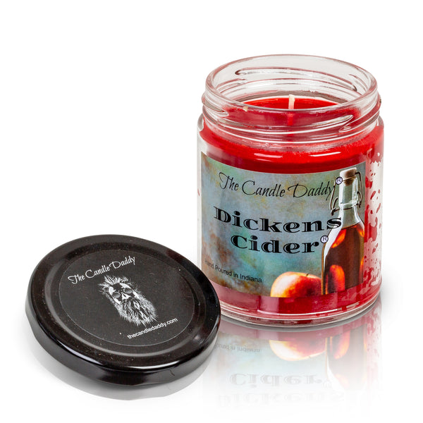 Dickens Cider - Apple Scent - Maximum Scented 6 Ounce Jar Candle - Hand Poured In Indiana
