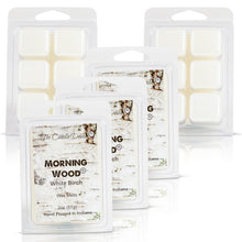 5 Pack - Morning Wood - White Birch Scented Wax Melt Cubes - 2 Oz x 5 Packs = 10 Ounces