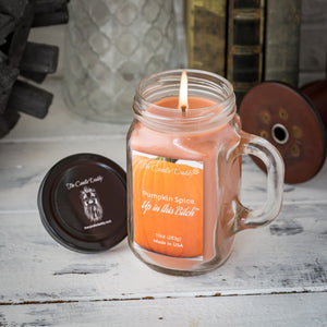 Pumpkin Spice Up in This Bitch- Fun & Funny Scented Candle - 10 Ounce Jar - Made in USA