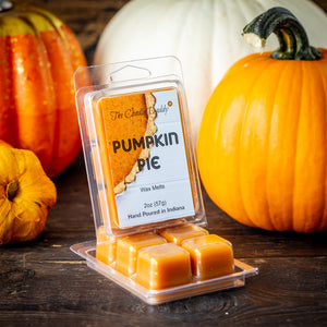 5 Pack - Pumpkin Pie Scented Wax Melt Cubes - 2 Oz x 5 Packs = 10 Ounces