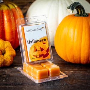 Halloween - Pumpkin Pie Scented Wax Melt Cubes - 2 Ounces - 1 Pack