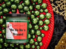 Ho Ho Ho'n Around Holiday Candle - Funny Apple Maple Bourbon Scented Candle - Funny Holiday Candle for Christmas, New Years - Long Burn Time, Holiday Fragrance, Hand Poured in USA - 6oz