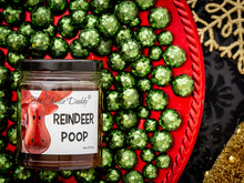 Reindeer Poop Holiday Candle - Funny Chocolate Fudge Scented Candle - Funny Holiday Candle for Christmas, New Years - Long Burn Time, Holiday Fragrance, Hand Poured in USA - 6oz