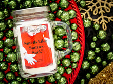Smell's Like Santa's Sack - Cool Winters Night Scent - 10 Ounce Mason Jar Candle - Poured In The USA
