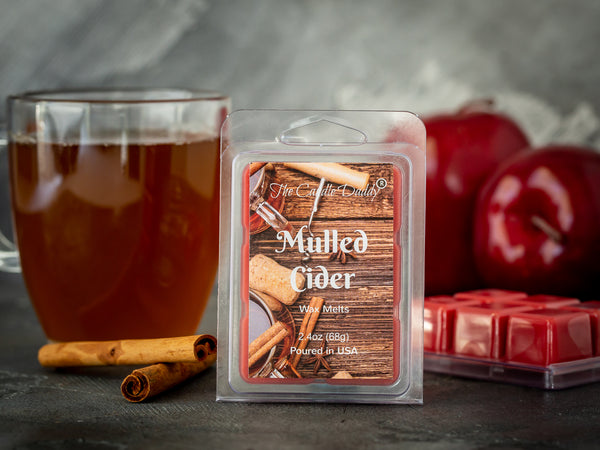 Mulled Cider Scented Wax Melt Cubes - 2.4 Ounces - 1 Pack