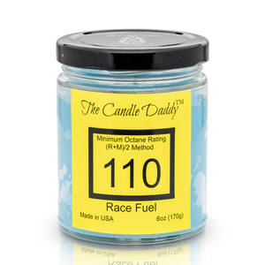 Race Fuel -Race Track Scented Jar Candle- The Candle Daddy- Hand Poured in Indiana