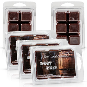 5 Pack - Root Beer Scented Wax Melt Cubes - 2 Oz x 5 Packs = 10 Ounces