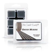 Skid Mark - Burnt Rubber Scented Wax Melt - 2 Ounces - 6 Cubes