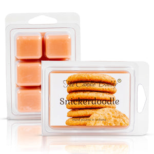 5 Pack - Snickerdoodle Scented Wax Melt Cubes - 2 Oz x 5 Packs = 10 Ounces